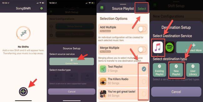 ✔ Cómo pasar tu música de Apple Music a Spotify con Songshift