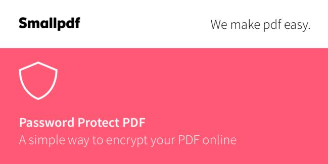 Cómo proteger un PDF con contraseña sin instalar programas