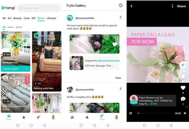 Tangi: llegan los minitutoriales al estilo TikTok en una nueva app