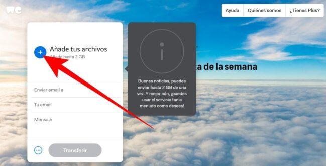 WeTransfer: qué es y como funciona para compartir archivos