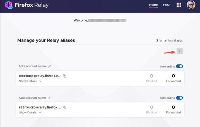 Como crear correos temporales con Firefox Relay