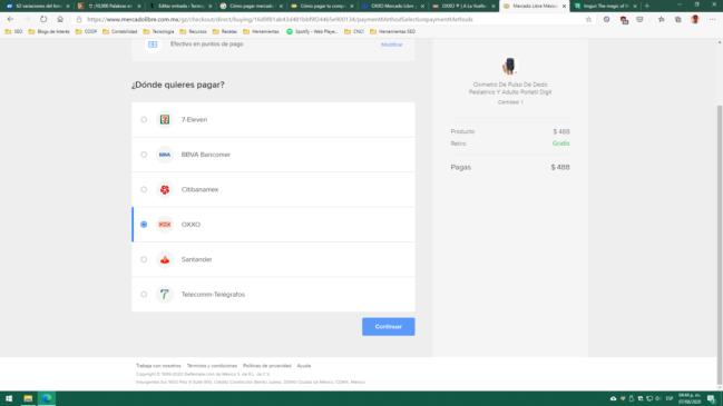 Cómo pagar Mercado Libre en OXXO