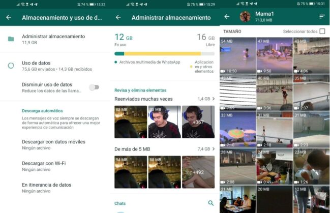 Borrar vídeos duplicados en WhatsApp fácilmente