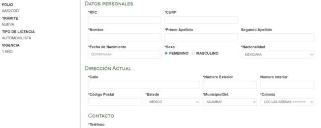 🥇GUÍA sacar cita para licencia en EdoMex
