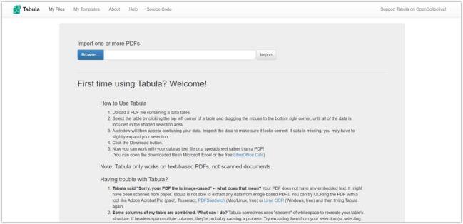 Cómo extraer tablas de un PDF con Tabula
