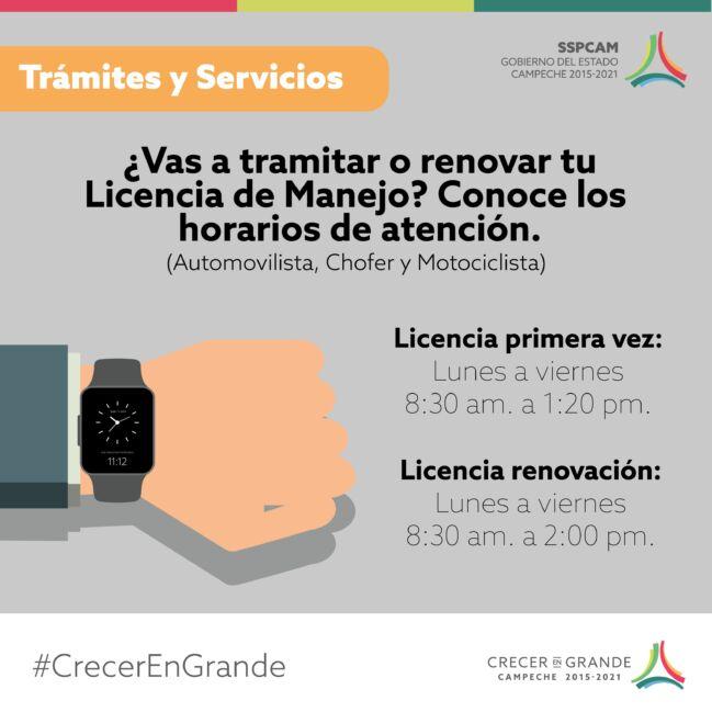 ✅¿Cómo tramitar la licencia de conducir en Campeche?
