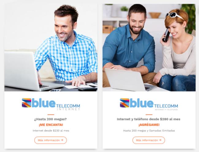 👉¿Cómo pagar Blue Telecomm en linea?