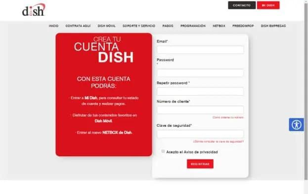 pagar servicio dish en linea