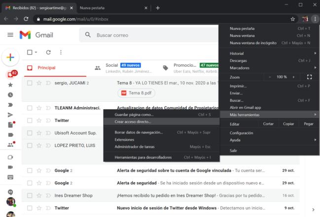 🧐Cómo instalar Gmail como aplicación en Windows 10