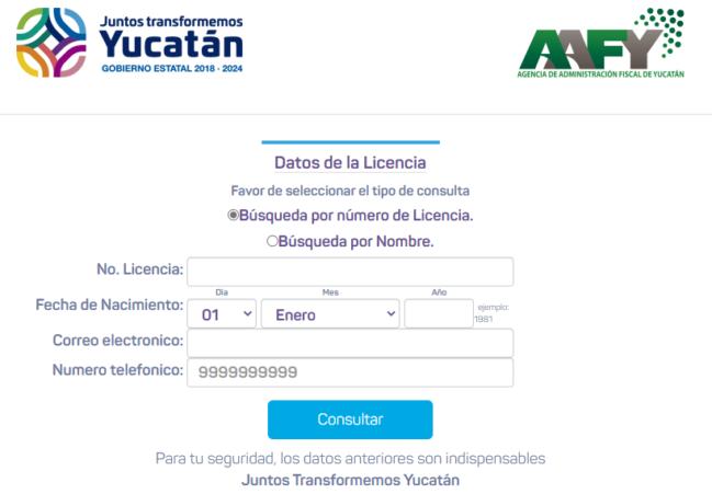 🥇Cómo renovar en línea la licencia de conducir en Yucatán