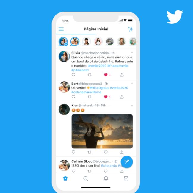 Twitter Fleets: llegan las historias oficialmente
