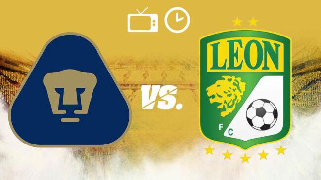 ¿Dónde, cuándo y cómo ver EN VIVO la final de ida Pumas vs León?