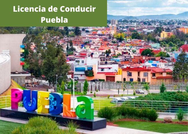🥇Licencia de Conducir en Puebla