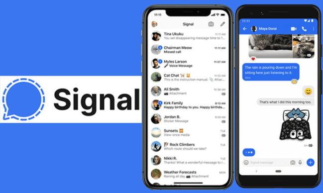🧐Cómo crear cuenta en Signal