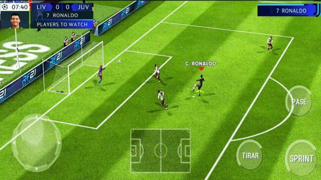 ▶Descargar Real Football para Android