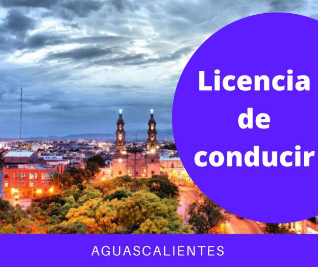🥇Cómo tramitar licencia de conducir en Aguascalientes