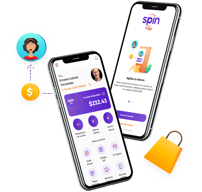 Spin by OXXO: enviar y recibir dinero sin tener tarjeta