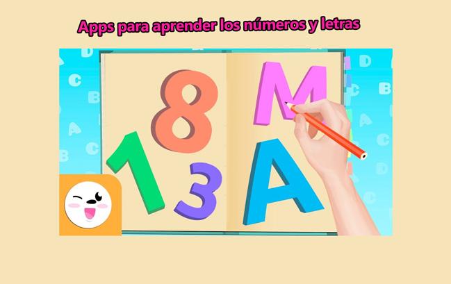 Top 8 apps para aprender los números y las letras