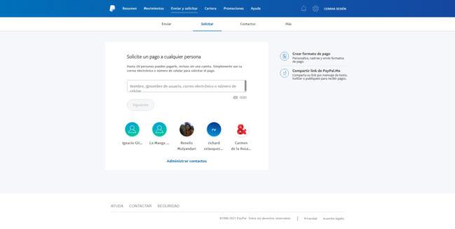 👉Cómo enviar dinero en PayPal