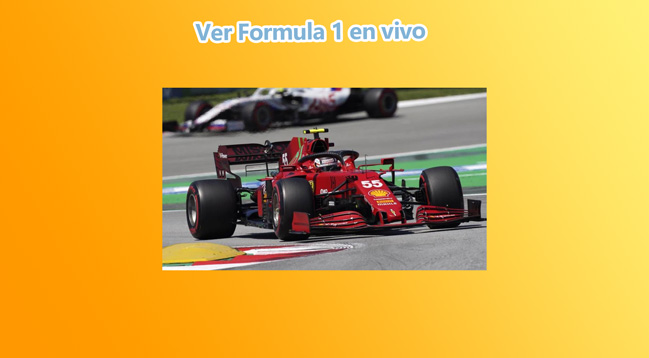 C贸mo ver F1 online gratis y en directo