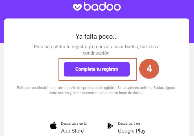 馃憠C贸mo crear una cuenta en Badoo