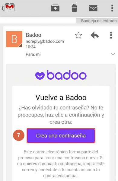 ¿Cómo cambiar la contraseña de Badoo?