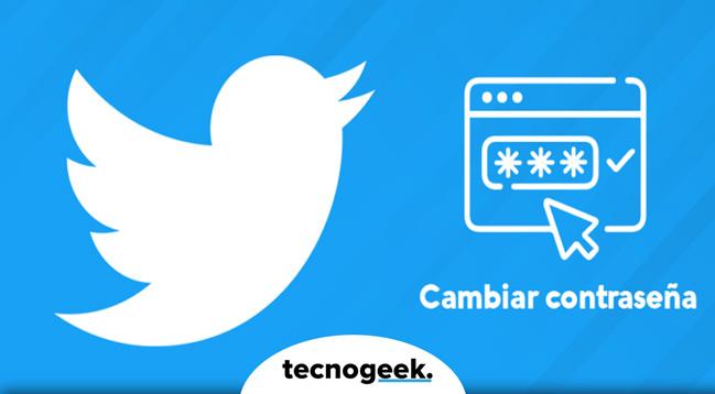 ▶Cómo cambiar contraseña de Twitter