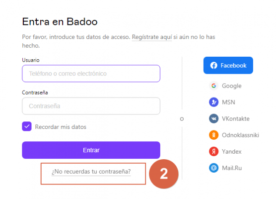 ✅Cómo recuperar una cuenta de Badoo