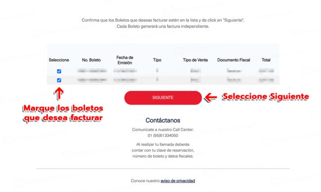 📜Facturación Aeroméxico
