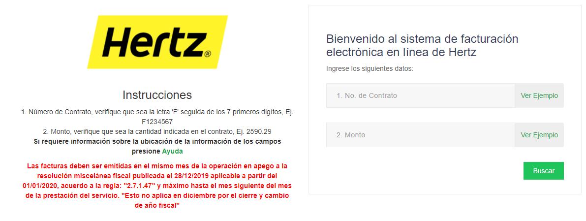 🚗Facturación Hertz