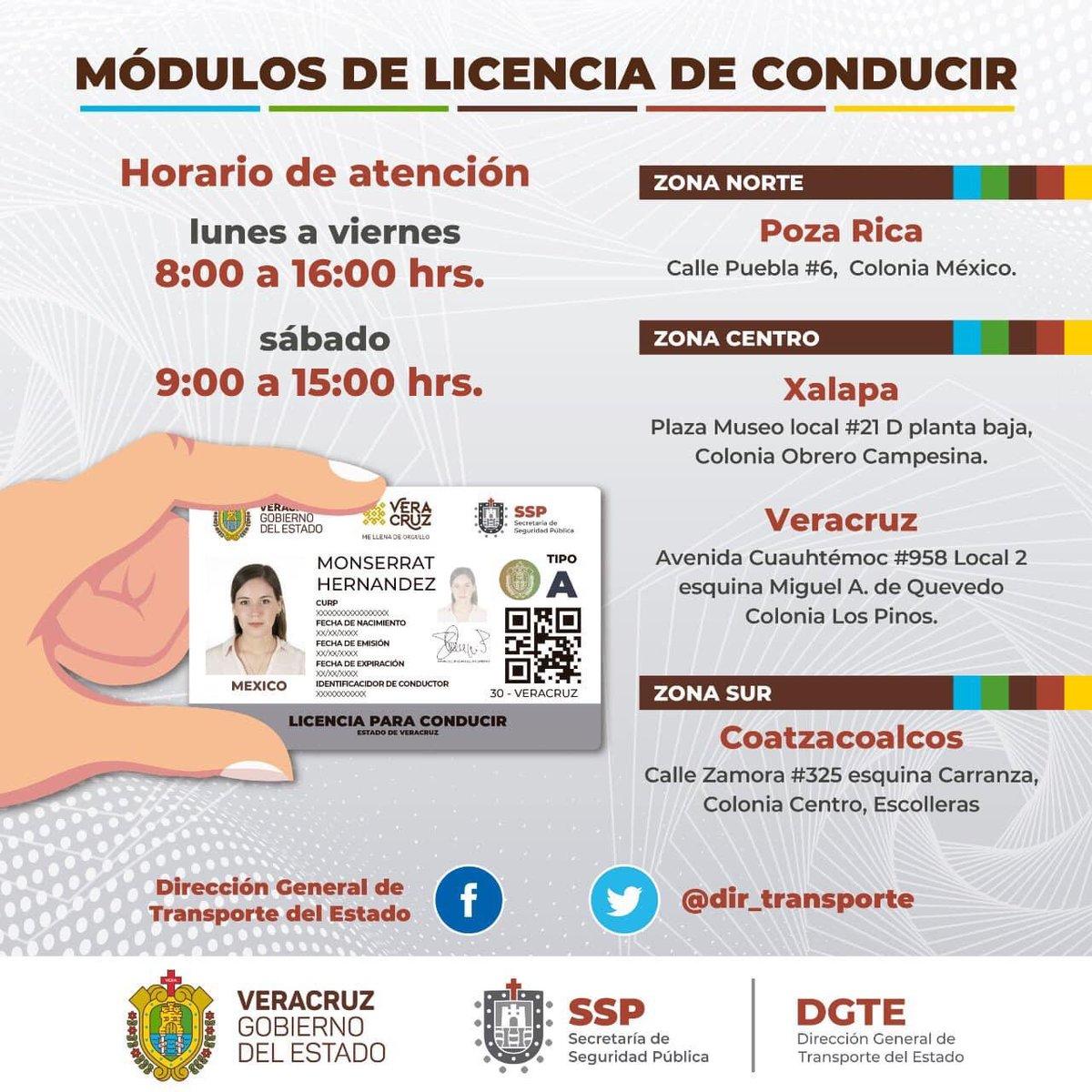 Licencia de Conducir VERACRUZ