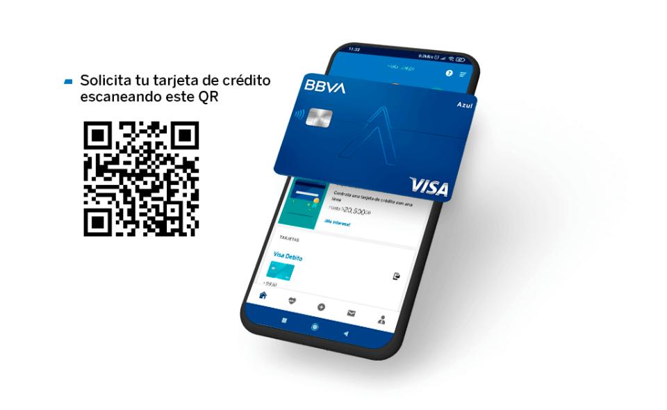 Tarjeta de Crédito BBVA en línea